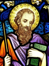 Saint James,stained Glass Window