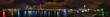 canvas print picture - Auckland Skyline bei Nacht