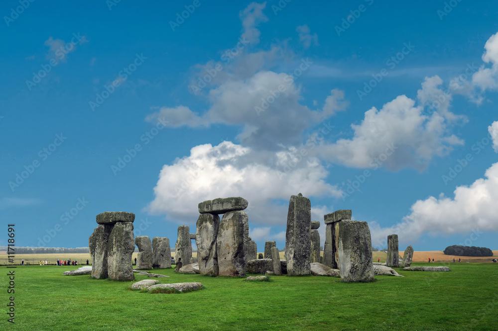 Foto-Lamellen (Lamellen ohne Schiene) - Stonehenge large panorama, United Kingdom