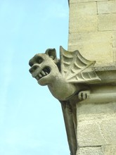 Gargoyle On Tower Of Pembroke ...