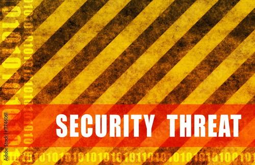 Fotografía  Security Threat