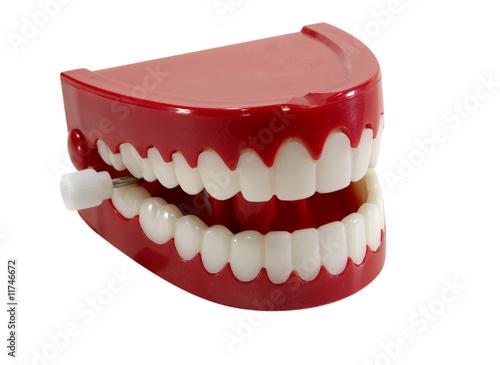 Chatter Teeth Fototapeta
