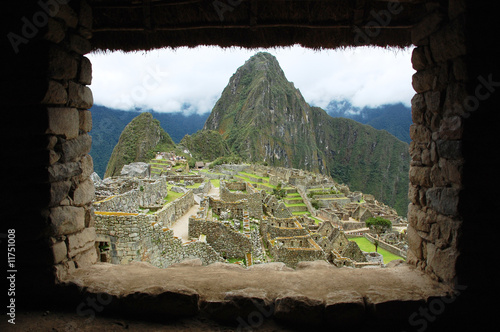 Photo  Machu Picchu Through the Inca Window (Peru)