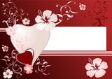 Carte de la Saint-Valentin