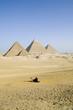 Leinwandbild Motiv Distant Pyramids