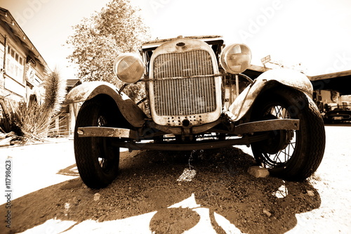 Photo  vintage ford