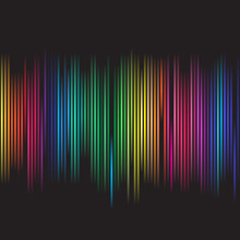 Colorful Spectrum For Background Abstract Use