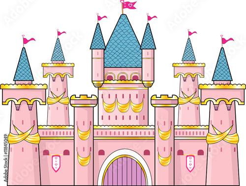 Poster Castle Castello della principessa
