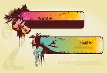 Summer-banners