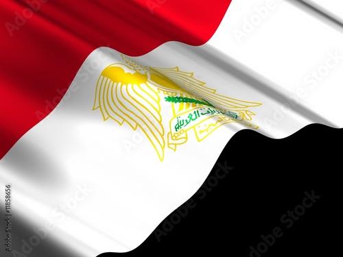 iraq Billede på lærred