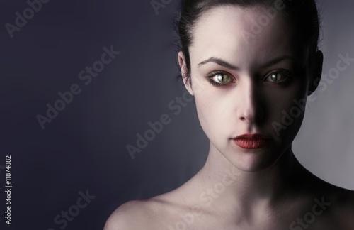 Obraz vampire - fototapety do salonu