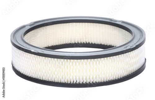 Fotografie, Obraz  Automotive air filter isolated