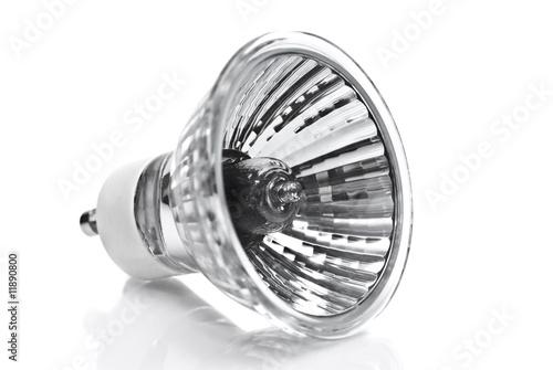 Obraz a halogen bulb / lamp - fototapety do salonu