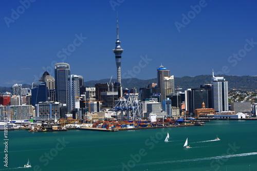 Foto-Flächenvorhang - Auckland (von Achim Thomae)