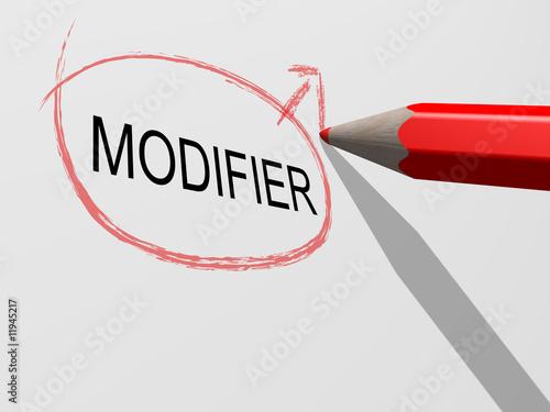 Photo modifier