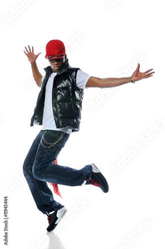 Fotografia  African American Hip Hop Dancer
