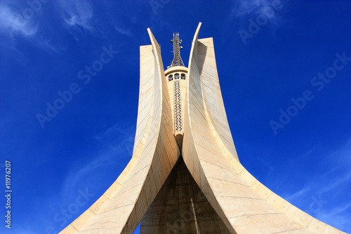 Photo Stands Algeria monument d'alger