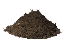 Mound Of Soil Isolated