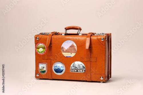 Canvas-taulu suitcase