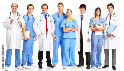Doctors and nurses #12024455