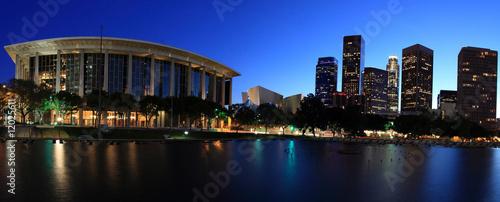Staande foto Los Angeles Los Angeles panoramic at twilight