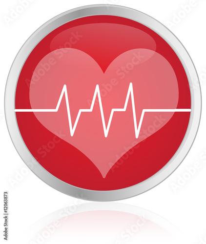 Photo  Health Care Button