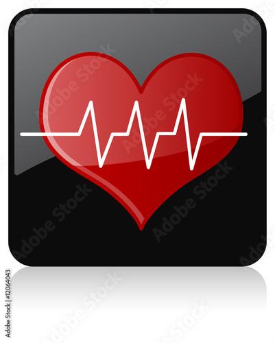 Photo  Cardiogram Icon