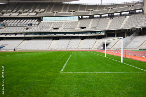 Papiers peints Stade de football The Goal and The Stadium