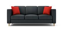 Modern Sofa Isolated