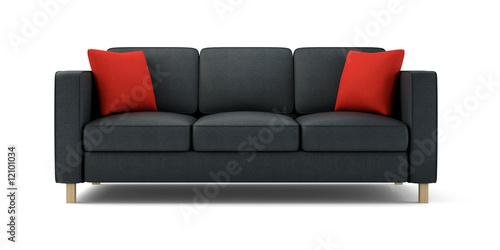 Modern Sofa Isolated