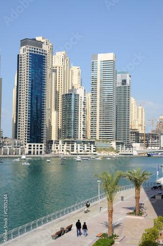 Photo  View of Dubai Marina, United Arab Emirates