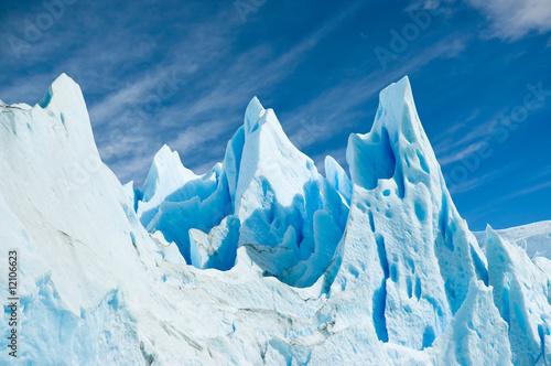 Leinwand Poster Perito Moreno glacier, patagonia argentina.