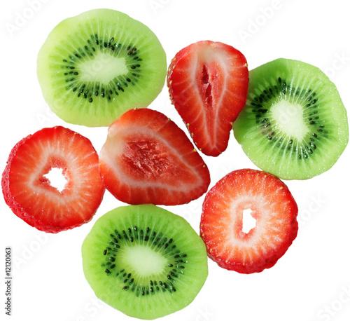 Printed kitchen splashbacks Fresh vegetables Fruit background