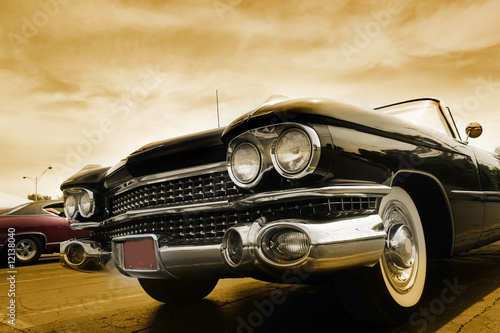 Photo Stands Old cars Classic Cars