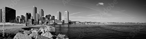 Fotografia boston harbor panorama
