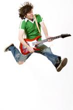 Passionate Guitarist Jumps In ...