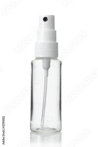 Empty bottle of atomizer Wallpaper Mural