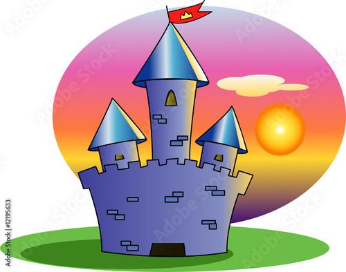 Poster Castle castello