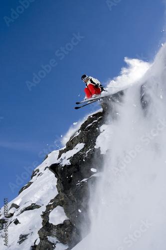 Fotografia ski freeride