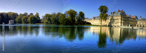 Photo Stands Paris Chateau Fontainebleau