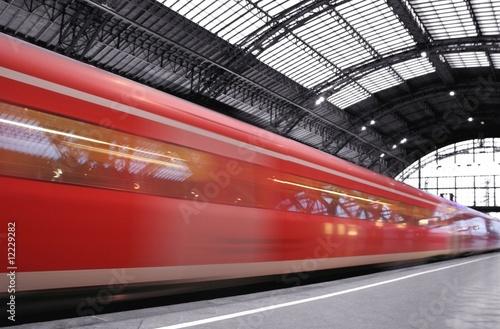 Fotografie, Obraz  Ankunft Bahn
