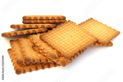Fotografie, Obraz  des petits biscuits secs