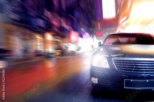 Fotomural  car