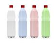 4 pfandflaschen (plastik)