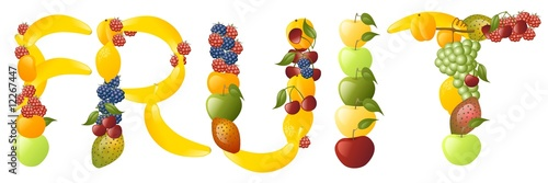 Fotografie, Obraz  fruit