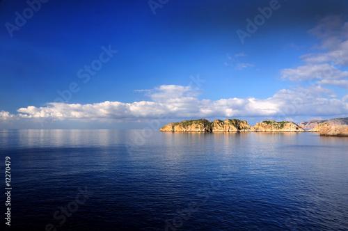 Foto-Schiebegardine Komplettsystem - Seascape. Majorca, Spain (von felinda)