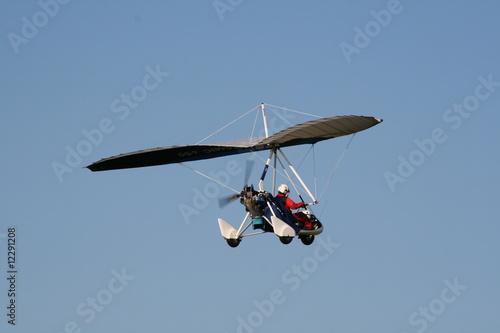 Staande foto Trike Ultraleicht-Flugzeug