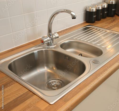 Fotografía  New Domestic Kitchen Sink