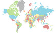 Dotted World - layer for every country