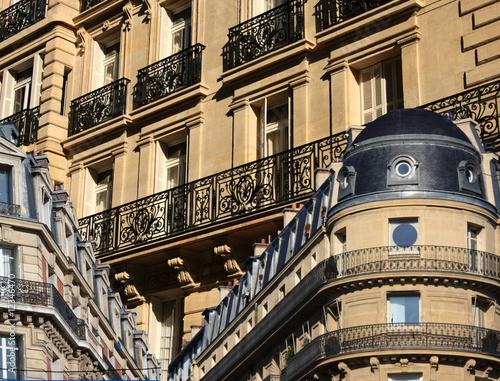 Fotografie, Obraz  marché de l'immobilier à Paris